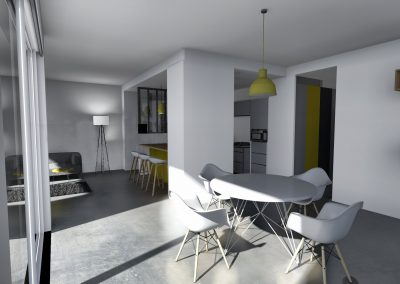 Design d'un appartement à Grenoble